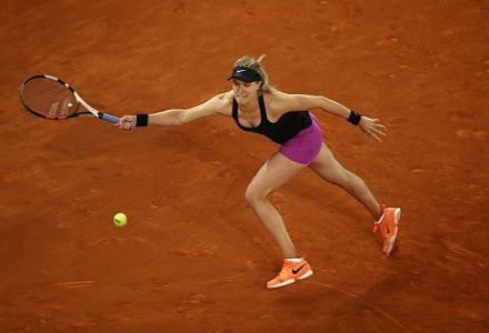Bouchard cut for French Open glory after Sharapova win
