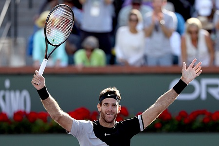 Del Potro backed to win Wimbledon following Indian Wells triumph