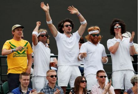 Five-figure wager on Wimbledon acca