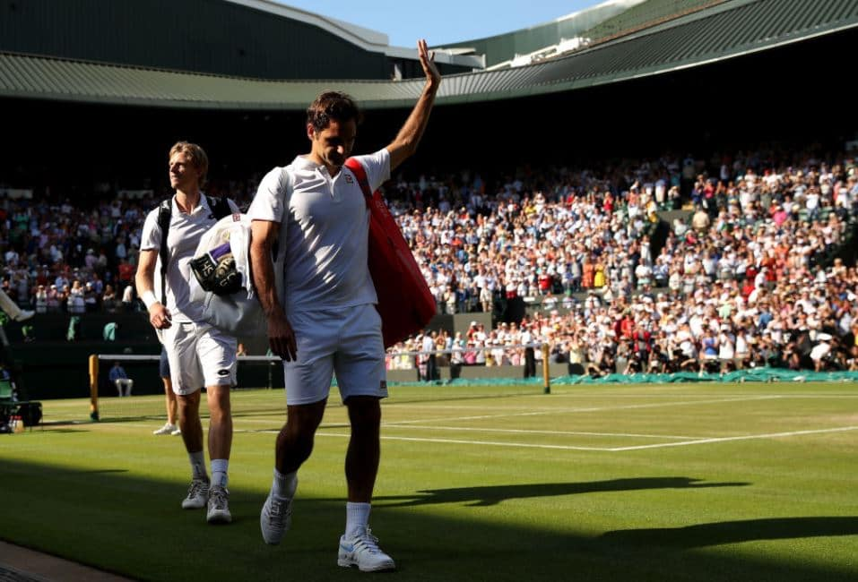 Roger Federer crashes out of Wimbledon - Novak Djokovic new favourite