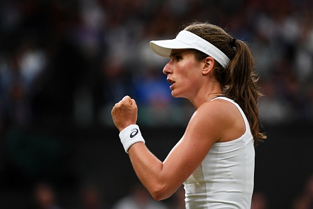 Konta fever hits Wimbledon ahead of semi final stage