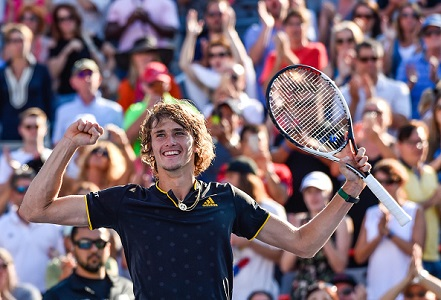 Alexander Zverev's odds cut for US Open after Rogers Cup win