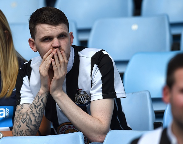 Newcastle heavily backed for relegation following Rafa exit