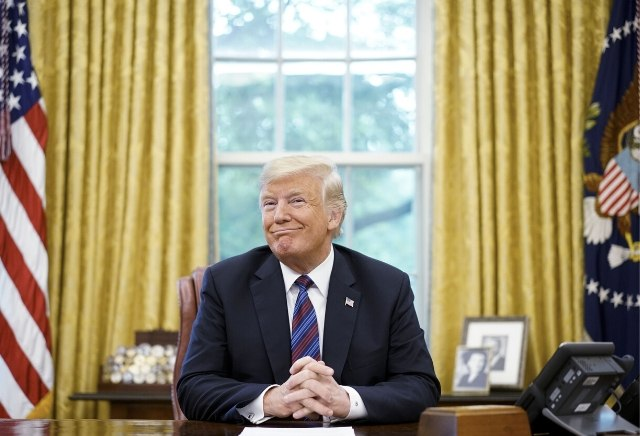 US Election 2020: Donald Trump's chances of winning re-election reach all-time high following Democratic chaos