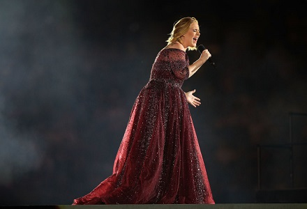 Adele's chance of landing Christmas Number One increase from 4.3% to 33% overnight