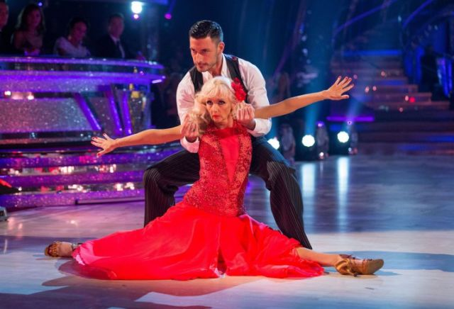 Debbie McGee's odds to win Strictly Come Dancing tumble after a wave of support