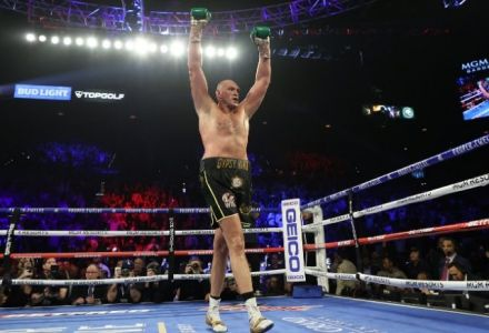 Odds slashed on Tyson Fury Winning Sports Personality of the Year
