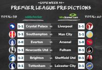 WhoScored vs oddschecker Premier League Score Predictions Gameweek 14