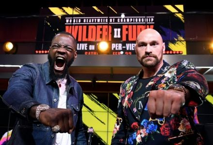 Tyson Fury drifts as Deontay Wilder goes FAVOURITE for the first time in the UK