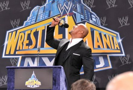 The Rock closing in on a Wrestlemania match?