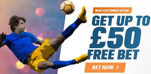 coral 50 free bet