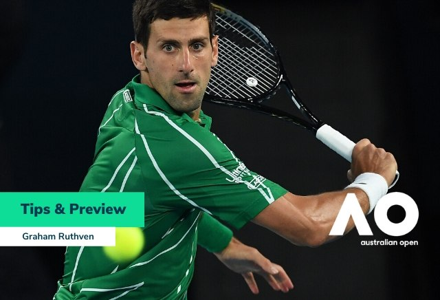 Men's Australian Open Semi Finals Tips & Betting Preview