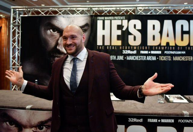 Tyson Fury v Francesco Pianeta Boxing Tips & Preview