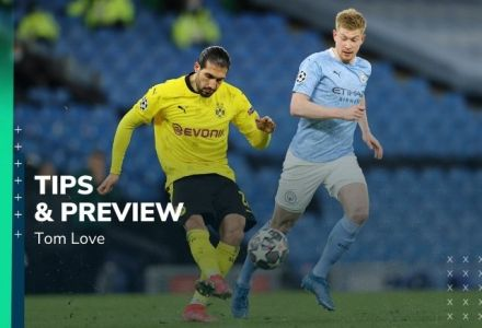 Borussia Dortmund vs Manchester City Prediction, Statistics, Preview & Betting Tips