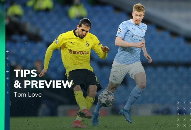 Borussia Dortmund vs Manchester City Prediction, Statistics, Preview & Betting Tips