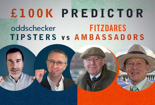 £100k Predictor: oddschecker Tipsters vs Fitzdares Ambassadors