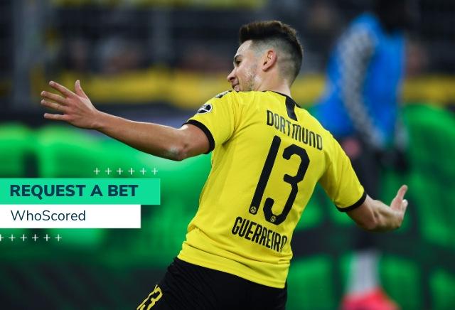 WhoScored's 200/1 Dortmund v Bayern Munich RequestABet