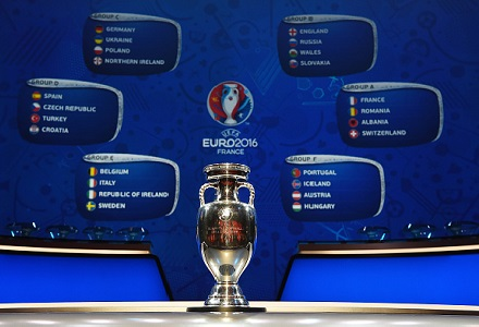 Euro 2016 Groups and best odds