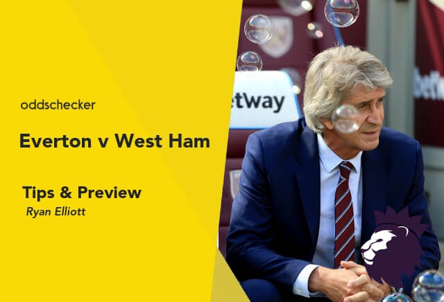 Everton v West Ham Tips & Betting Preview