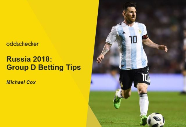 Russia 2018 Group D Betting Tips