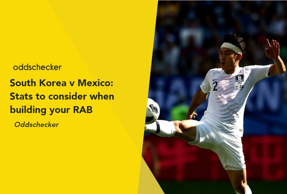 South Korea v Mexico: Stats to consider when building your RAB
