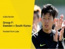 Sweden v South Korea Betting Tips & Preview