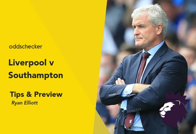Liverpool v Southampton Tips & Betting Preview