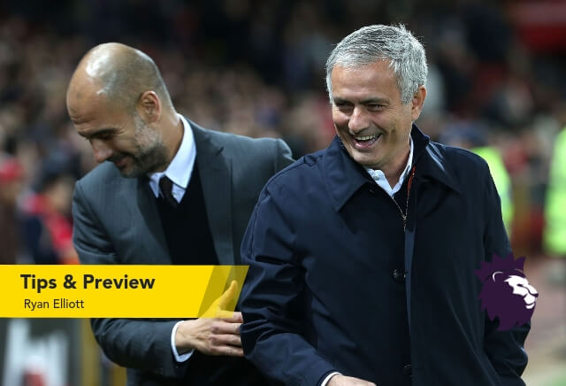 Man City v Man Utd Tips & Betting Preview