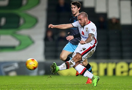 Snap up the 5/1 about MK Dons at Blackburn