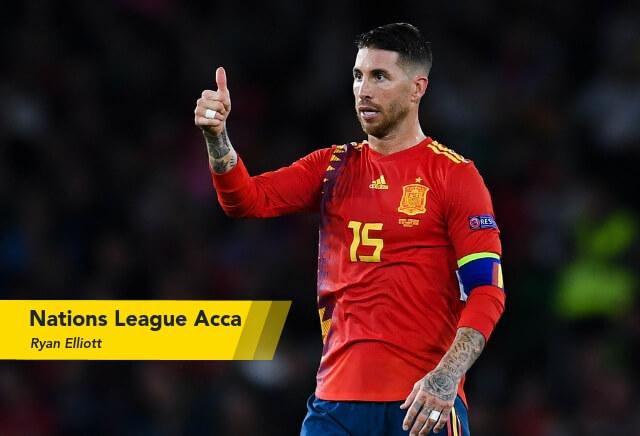 Thursday Nations League Acca