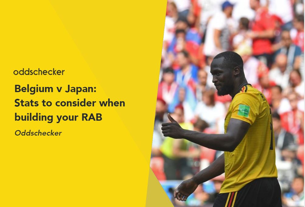 Belgium v Japan: Stats to consider when building your RAB