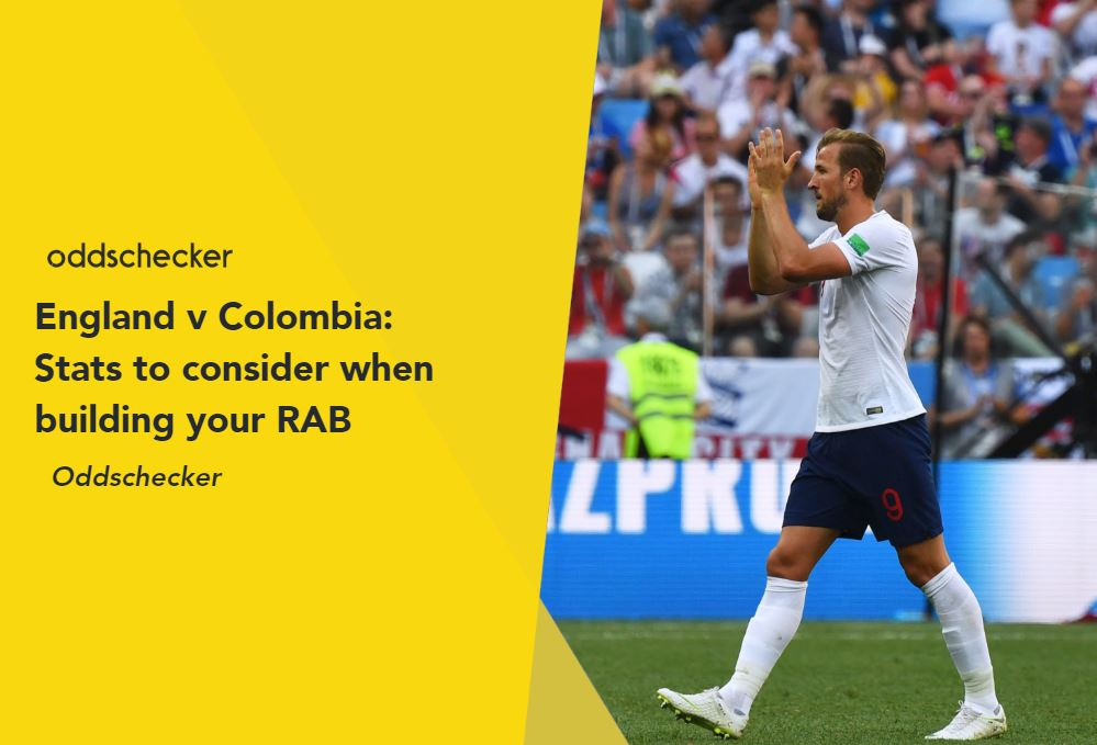 England v Colombia: Stats to consider when building your RAB