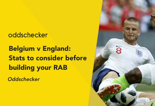Belgium v England: Stats to consider when building your RAB
