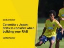 Colombia v Japan: Stats to help you build your RAB
