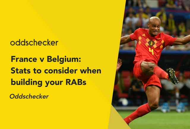 France v Belgium: Stats to consider when building your RAB