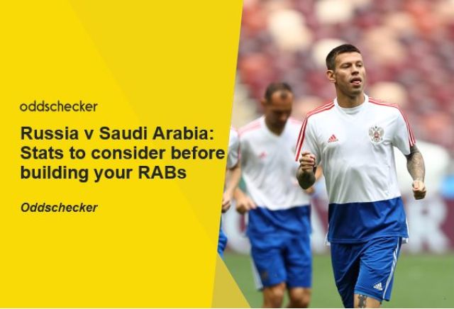Russia v Saudi Arabia: Things to consider when building your Request-A-Bet