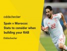 Spain v Morocco: Stats to consider when building your RAB