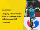 Uruguay v Saudi Arabia: Stats to consider when building your RAB
