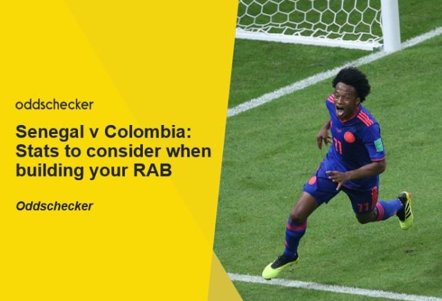 Senegal v Colombia: Stats to consider when building your RAB