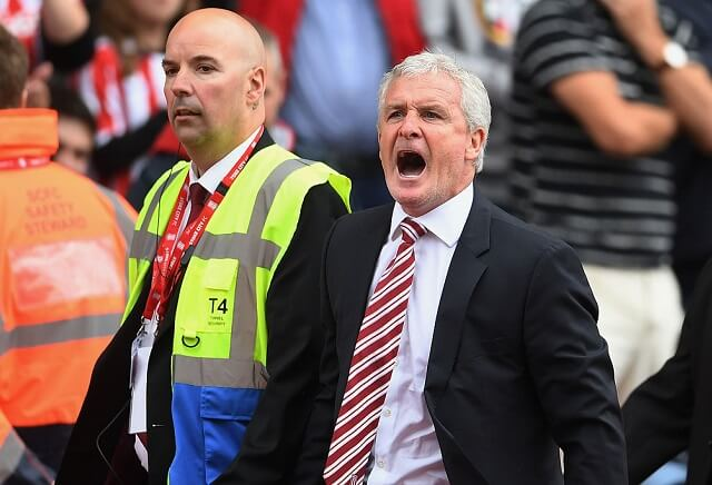 Mark Hughes now the 6/5 favourite to be the first manager to leave