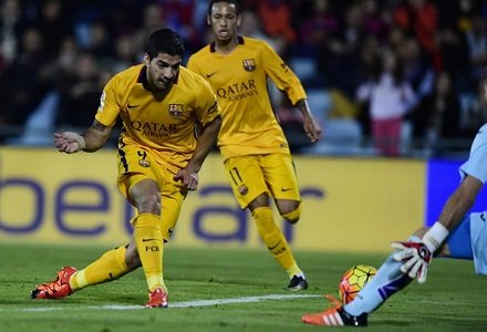 Suarez can take centre stage for Barcelona