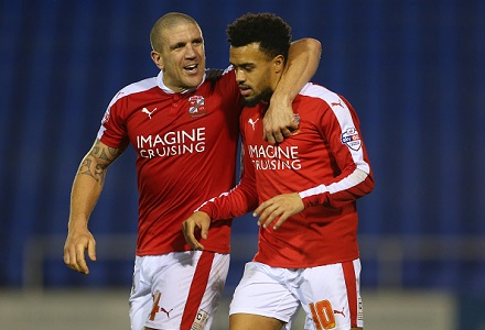 Swindon to get the better of Chesterfield after Walsall win