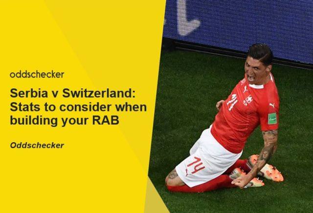 Serbia v Switzerland: Stats to consider when building your RAB