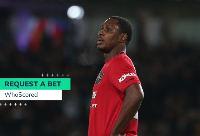 WhoScored's Man Utd v Man City 28/1 RequestABet