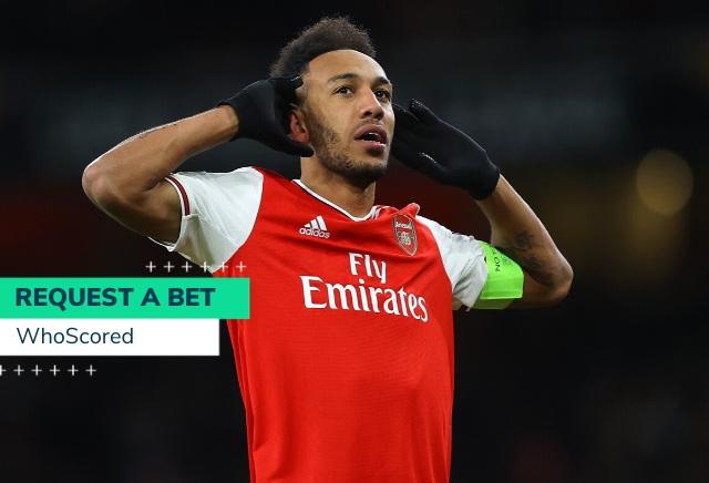WhoScored's Man City vs Arsenal 66/1 RequestABet