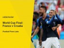 World Cup Final: France v Croatia Betting Tips & Preview