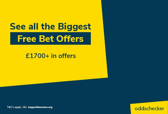 The best free bets and bookmaker sign up offers