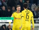 Paderborn vs Borussia Dortmund Tips, Preview & Prediction