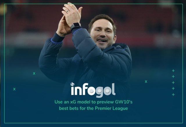 Infogol Premier League Tips: GW10 Predictions, xG Analysis & Statistics
