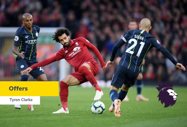 Man City v Liverpool Offers
